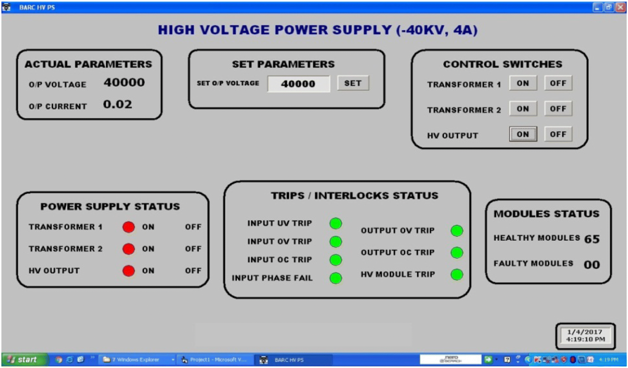 Design And Performance Analysis Of A Crowbar Less High Voltage Power Home Variac Wiring Diagrampng Open Image In New Window
