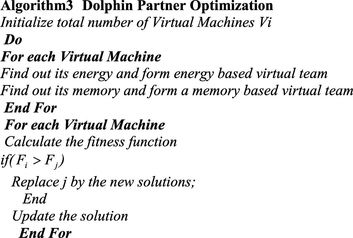 Dolphin partner optimization based secure and qualified