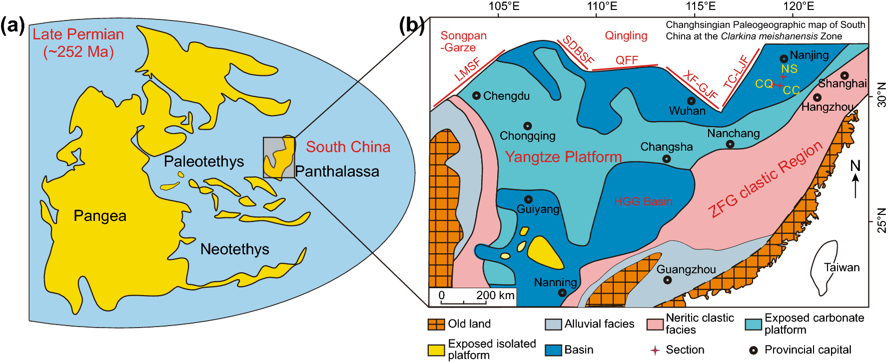 Geochemistry of upper Permian siliceous rocks from the Lower