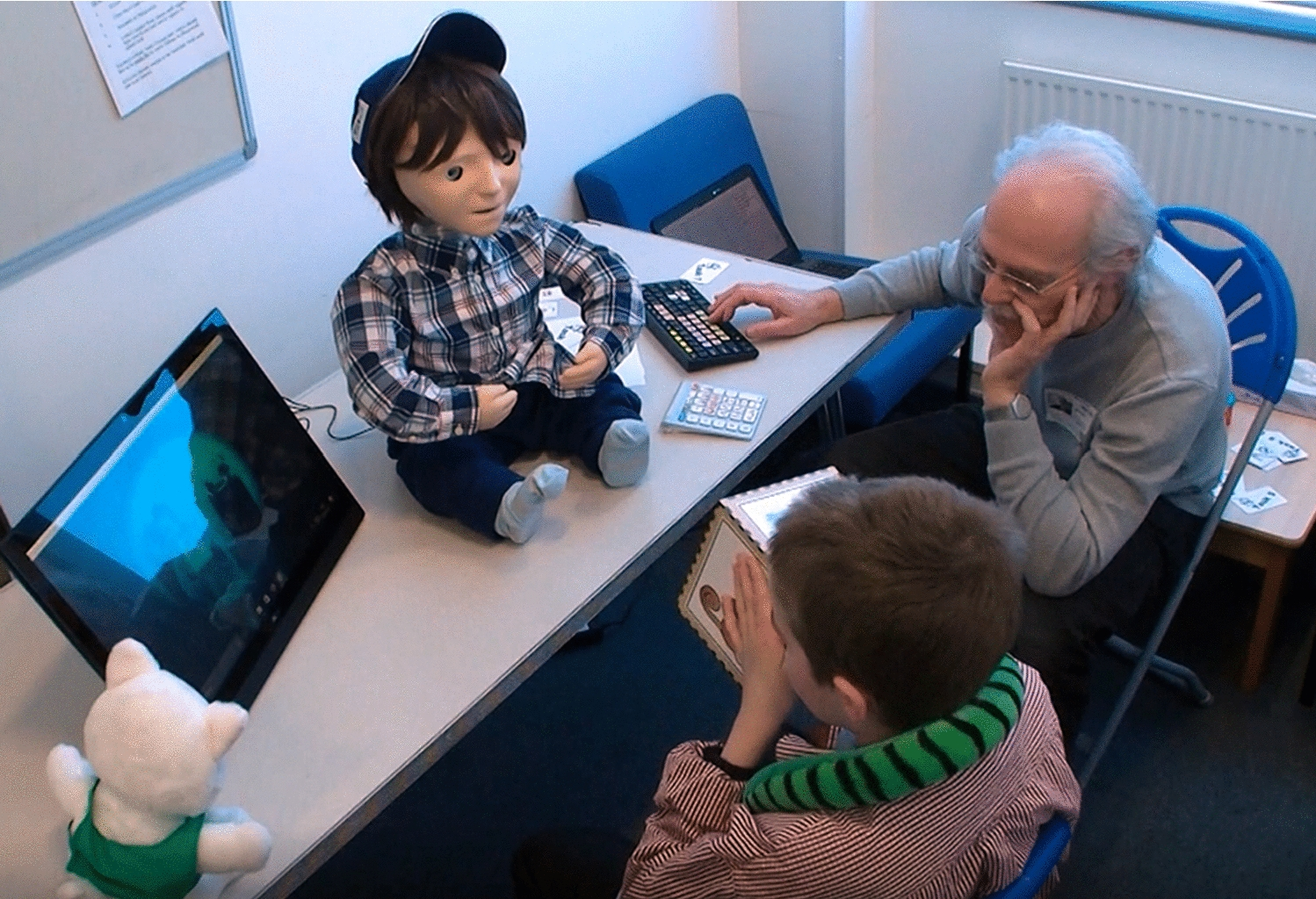 Developing Kaspar: A Humanoid Robot for Children with Autism