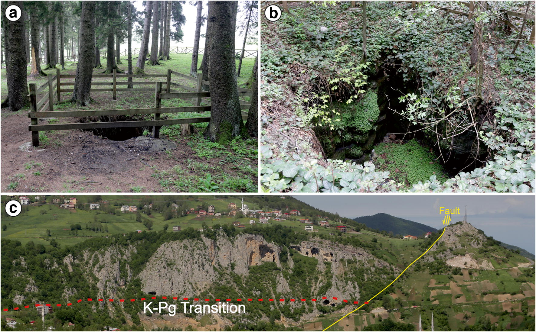 Vulnerable Geosites of Çayırbağı-Çalköy (Düzköy-Trabzon) in