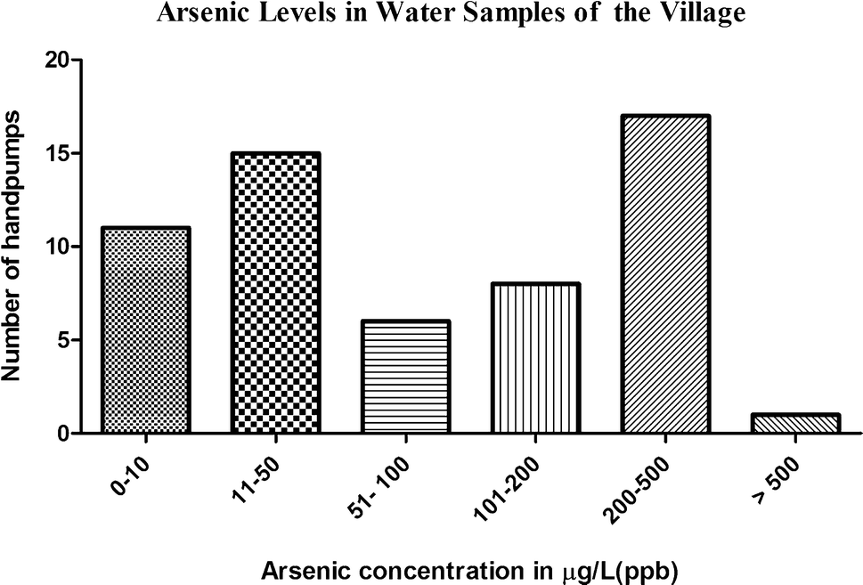 High Arsenic Concentration in Blood Samples of People of Village