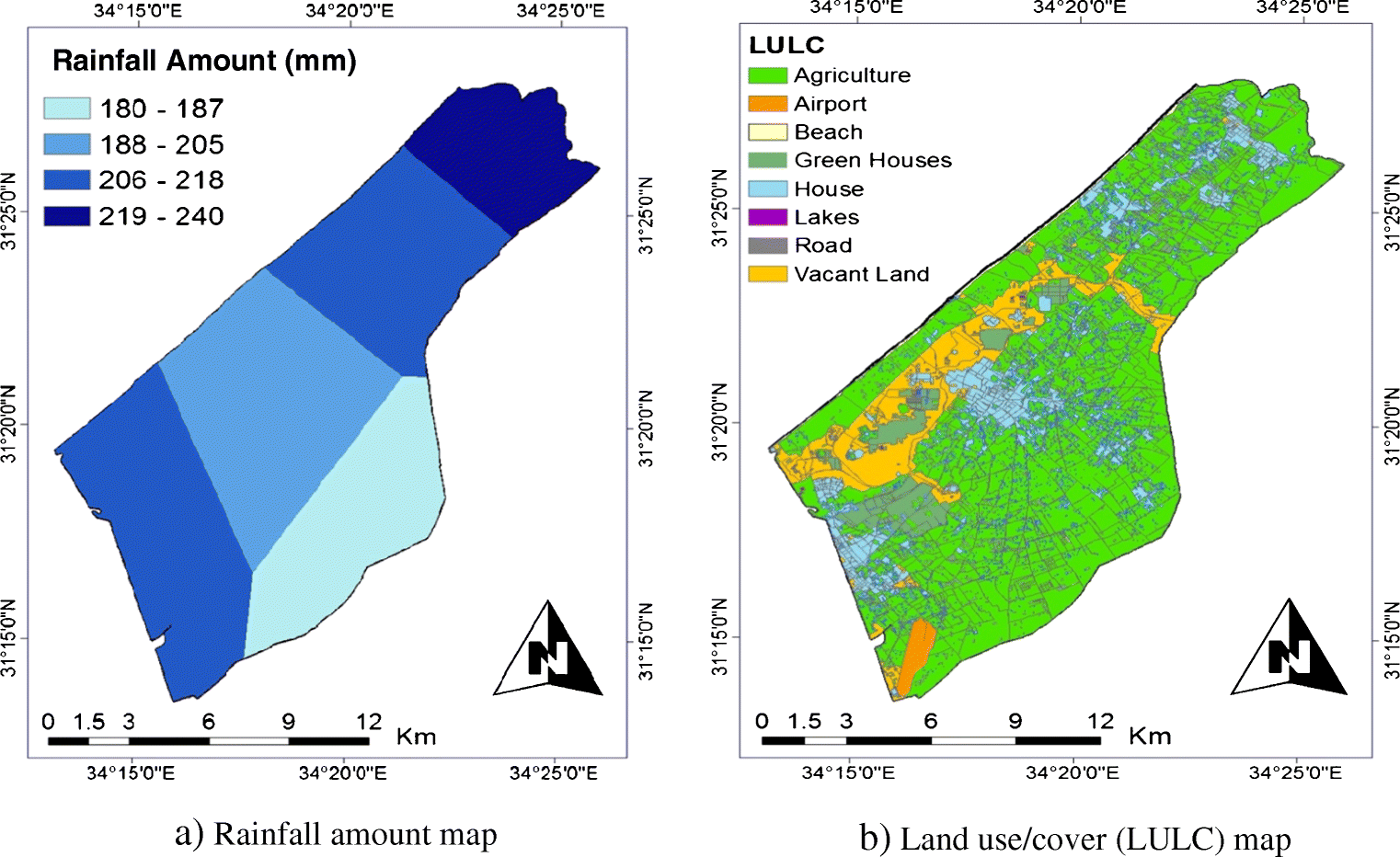 Evaluation of flood susceptibility mapping using logistic