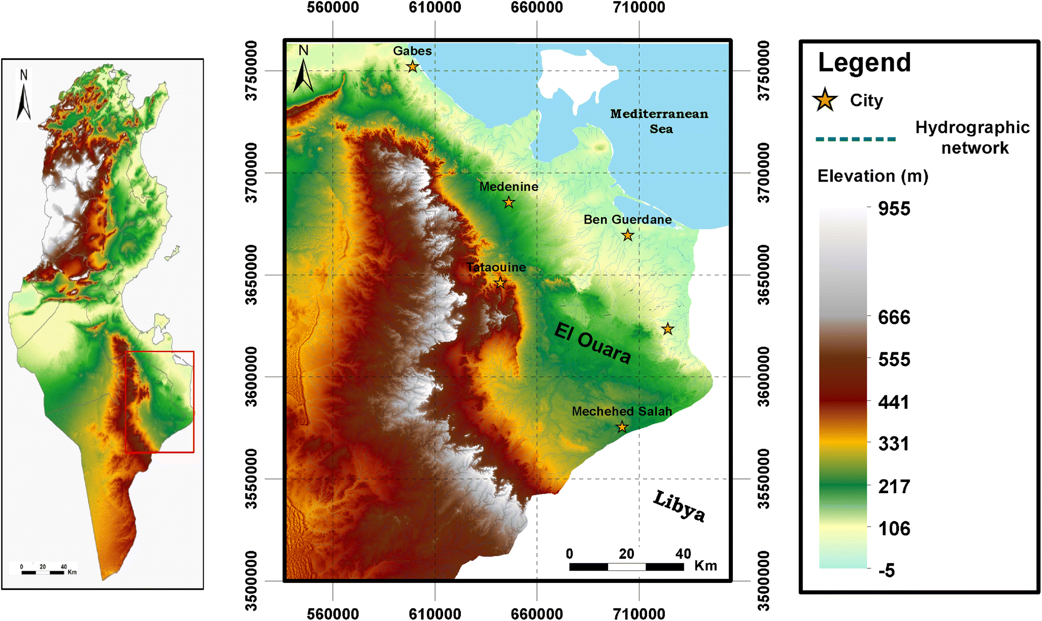 Assessment of groundwater quality of El Ouara aquifer (southeastern