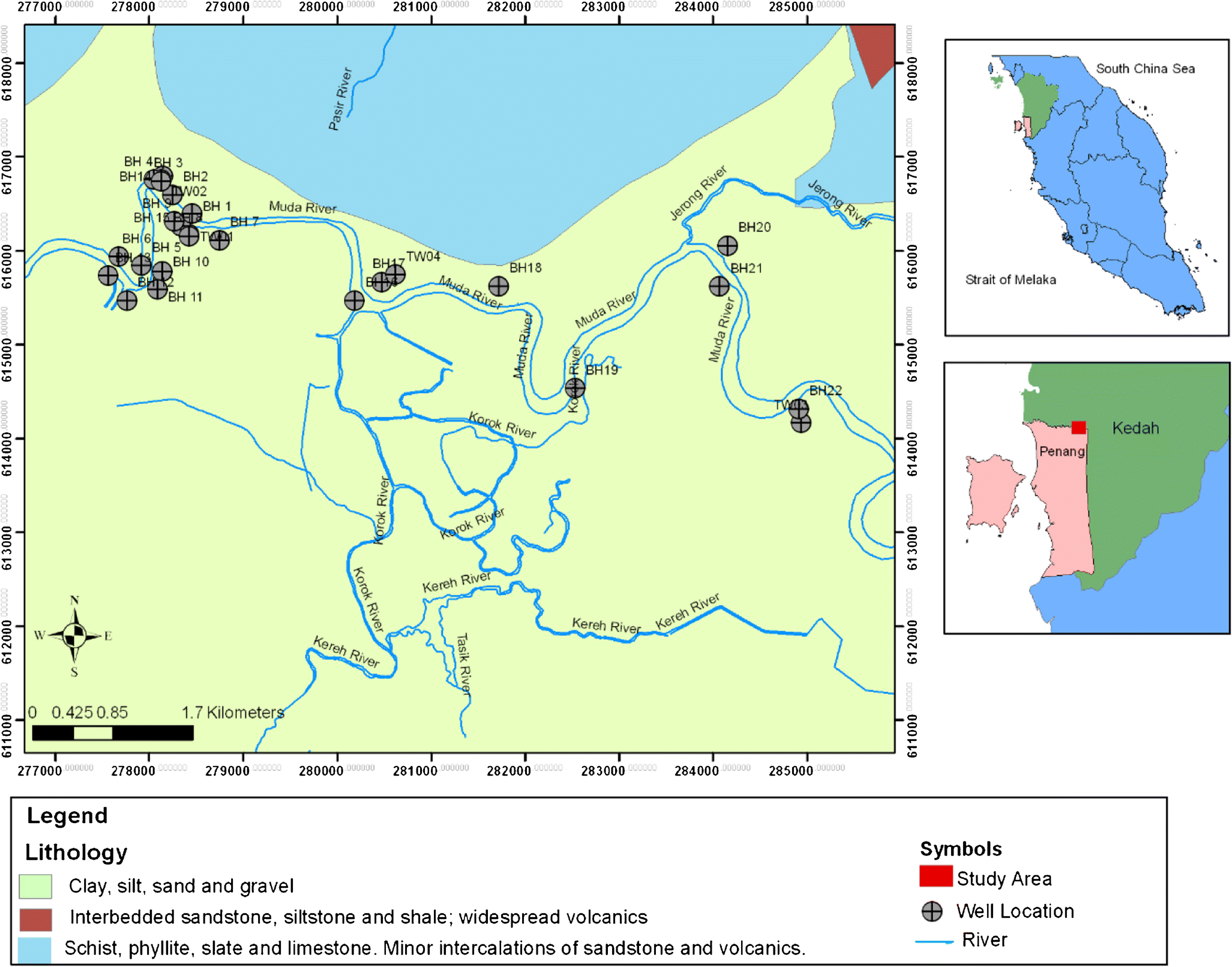 Geochemical characteristic and water quality index of groundwater