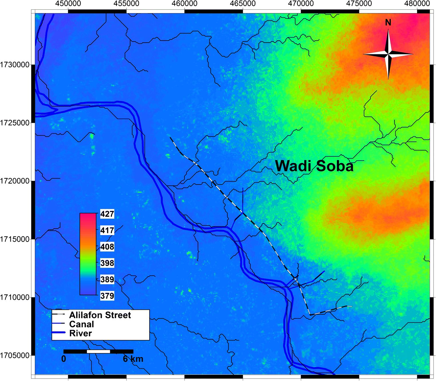 Use of NRCS-curve number method for peak discharge