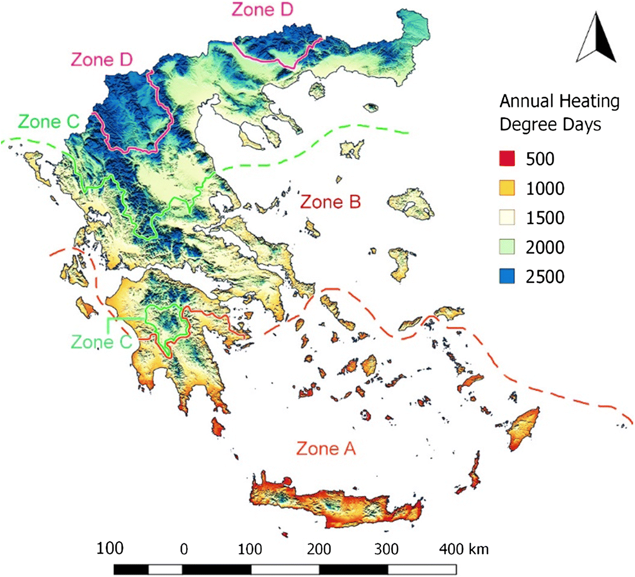 A geospatial analysis of the influence of landscape and