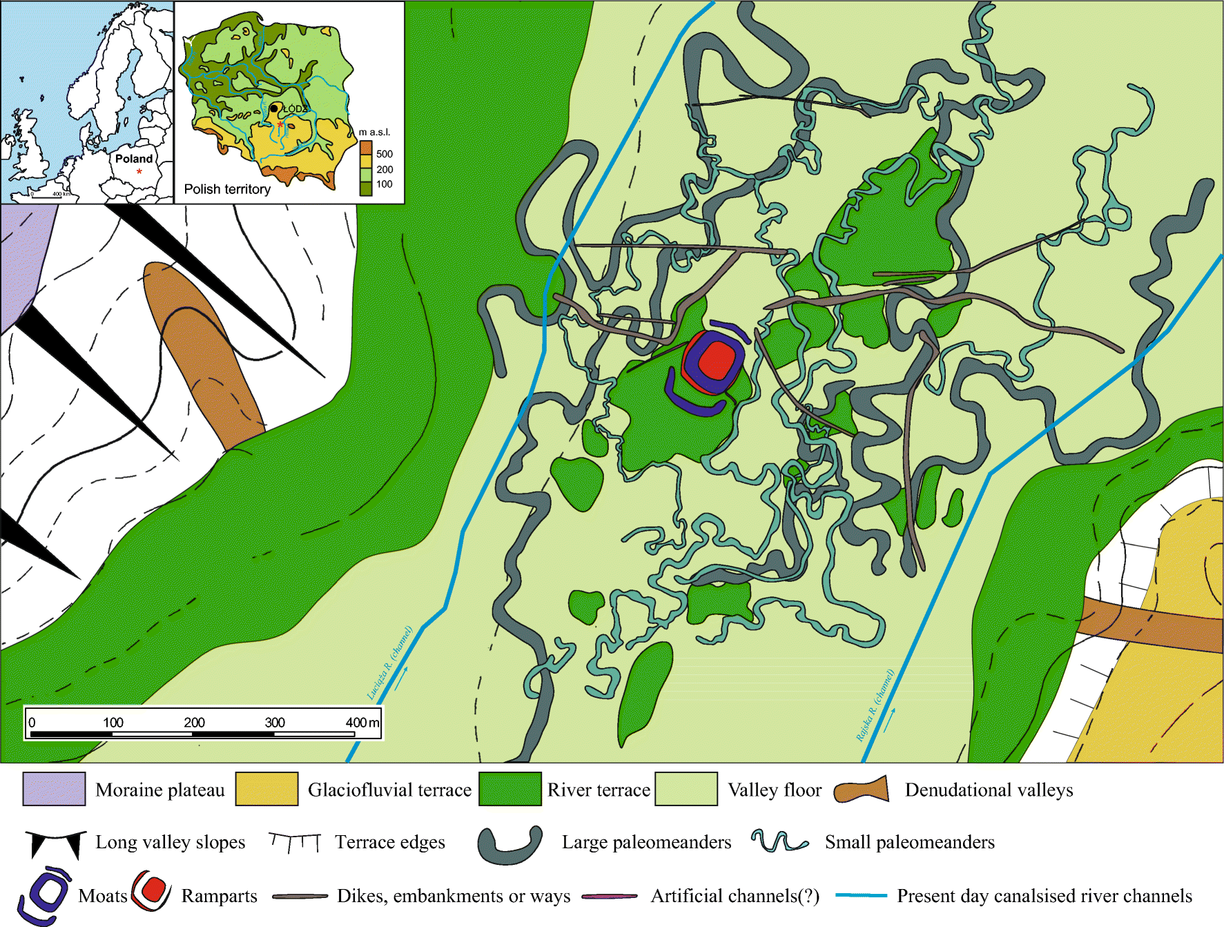 A Palaeoenvironmental Reconstruction Of The Rampart