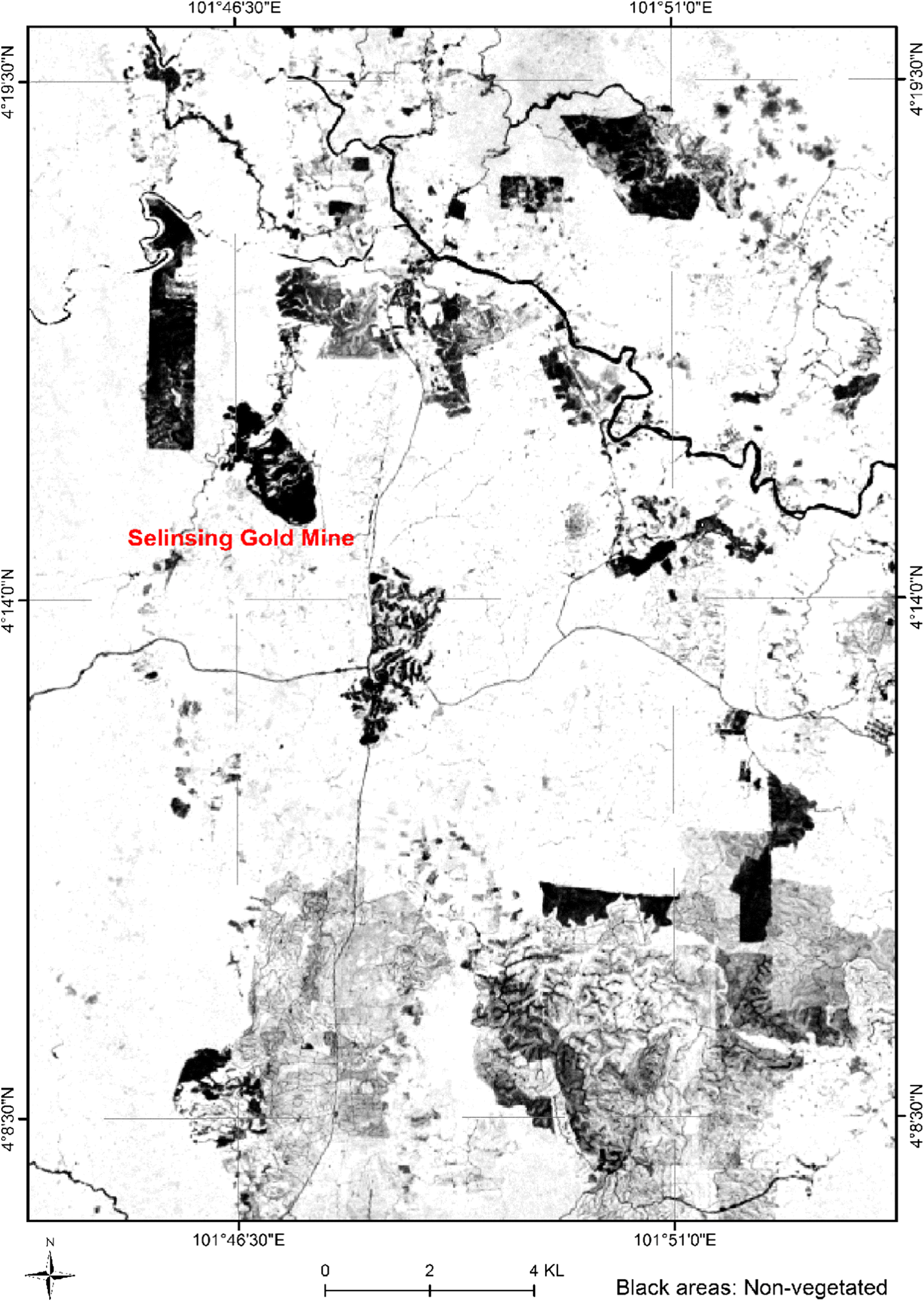 Spatial Identification of Key Alteration Minerals Using ASTER and