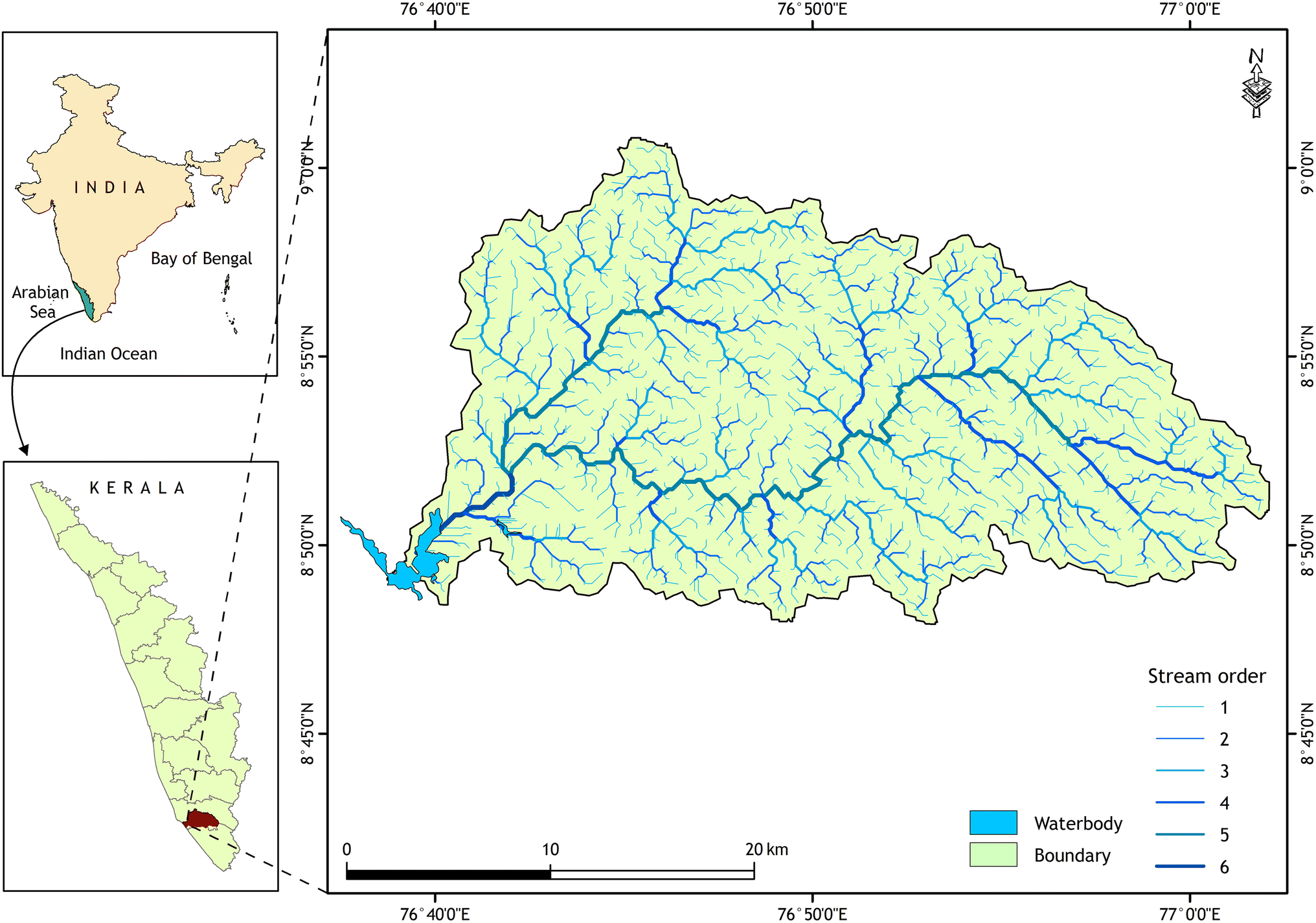 BaDAM Toolbox: A GIS-Based Approach for Automated Drainage