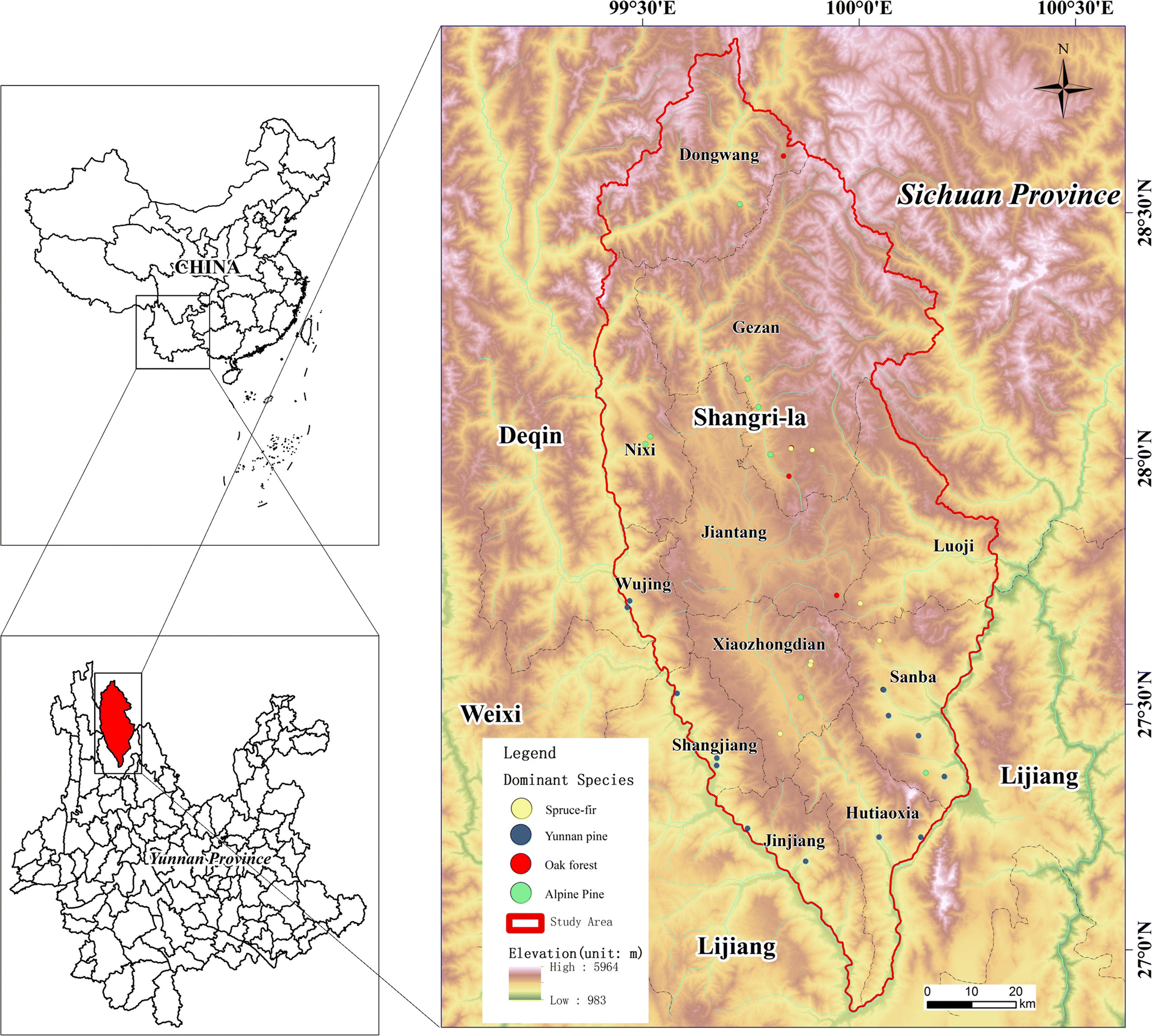Forest Leaf Area Index Inversion Based on Landsat OLI Data