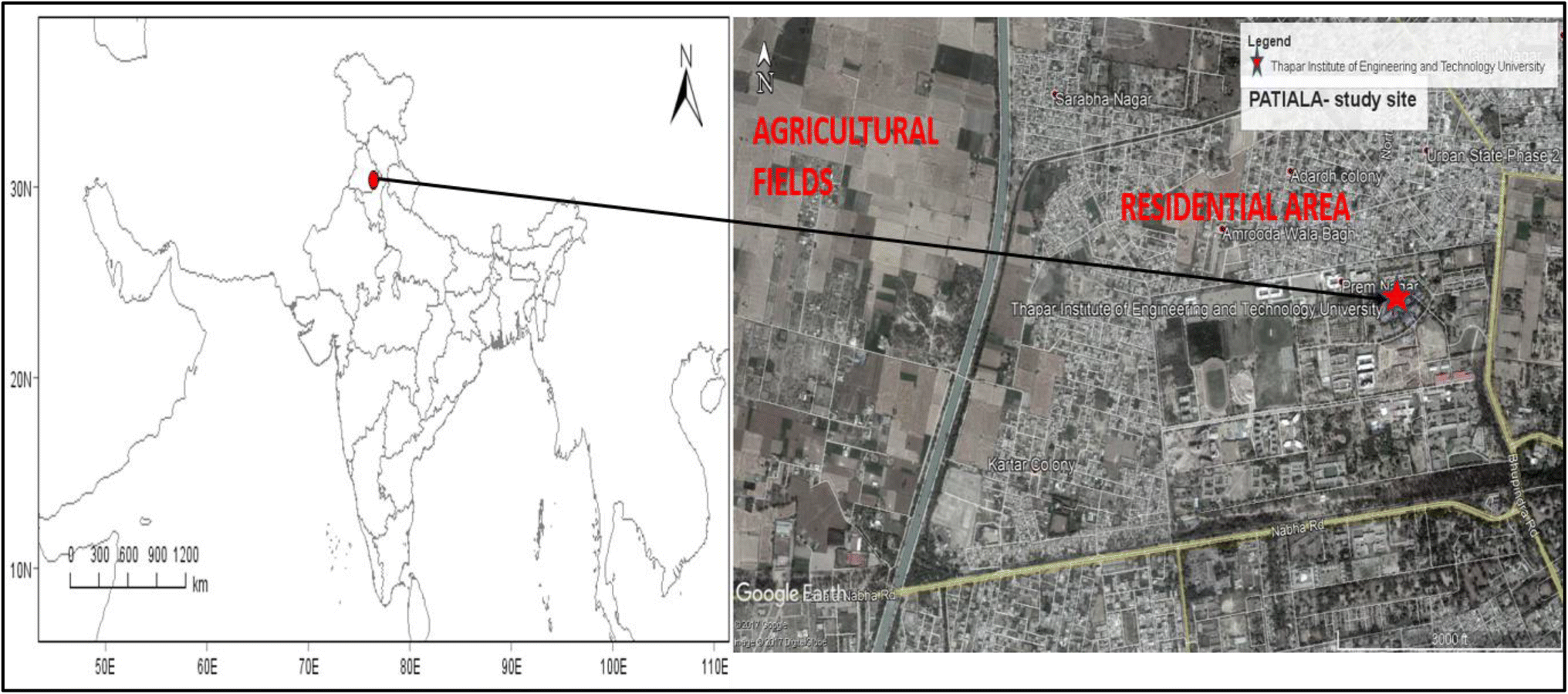 Enhanced Ozone Production in Ambient Air at Patiala Semi-Urban Site