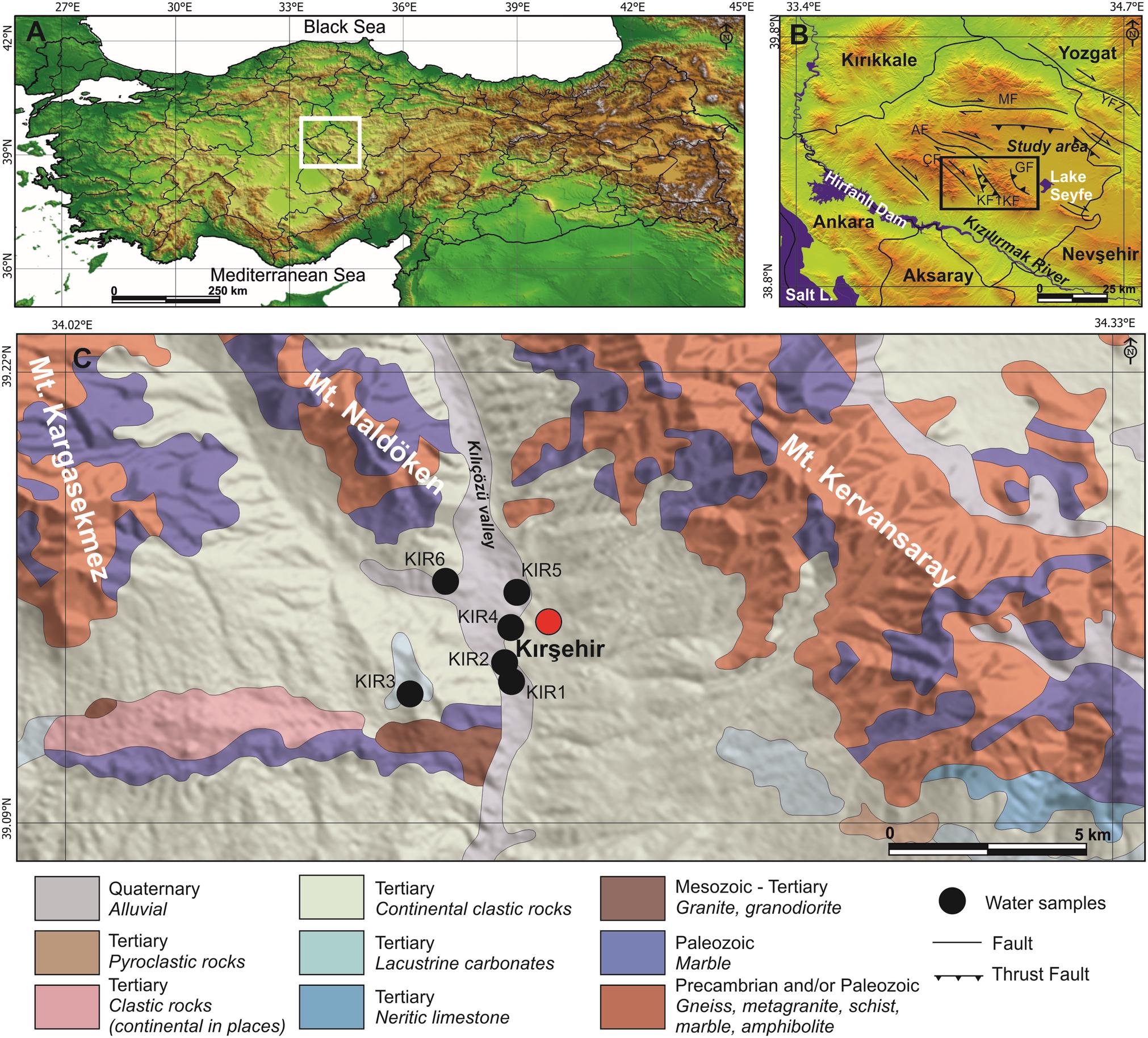 A new approach to Kırşehir (Turkey) geothermal waters using REY