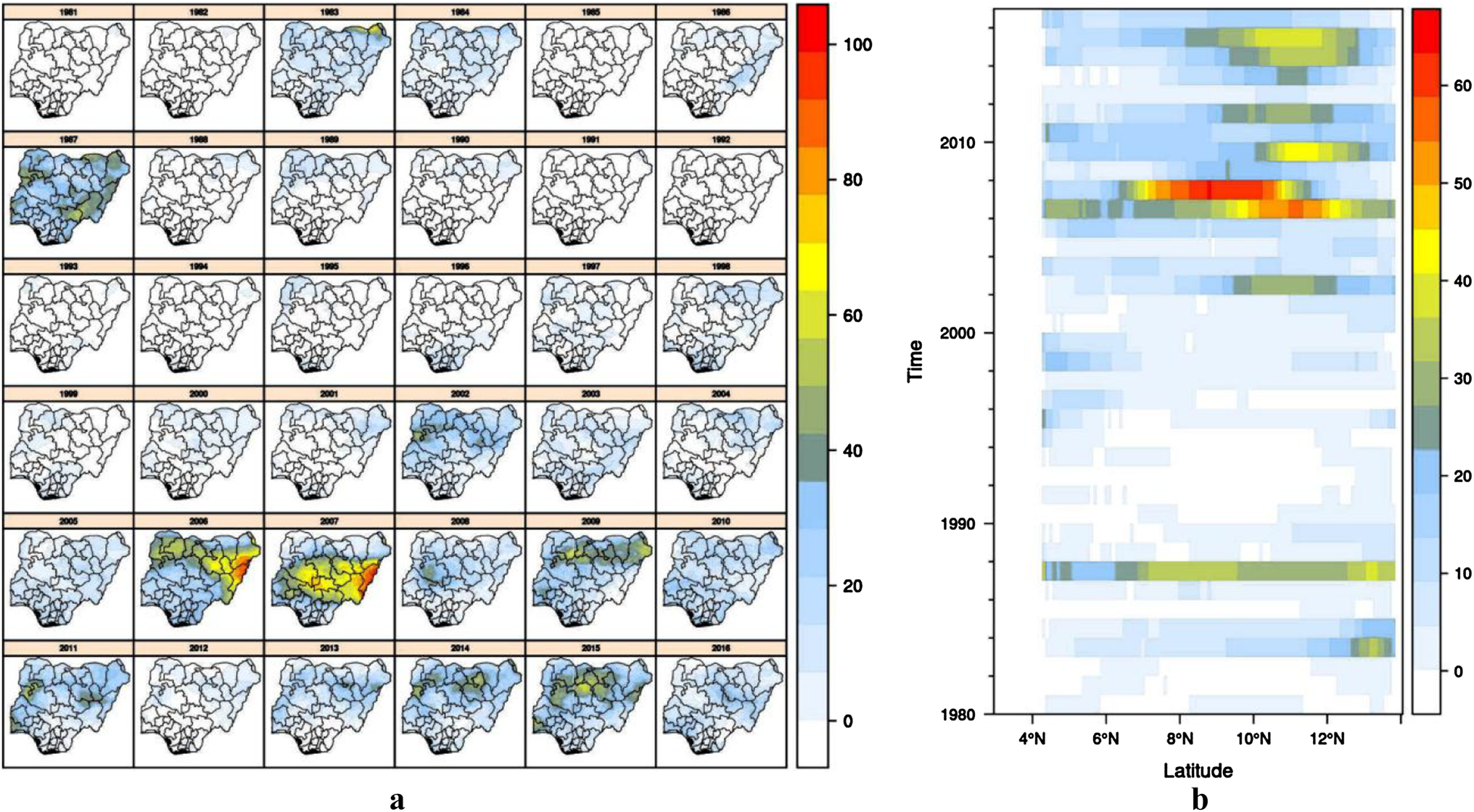 A change comparison of heat wave aspects in climatic zones of