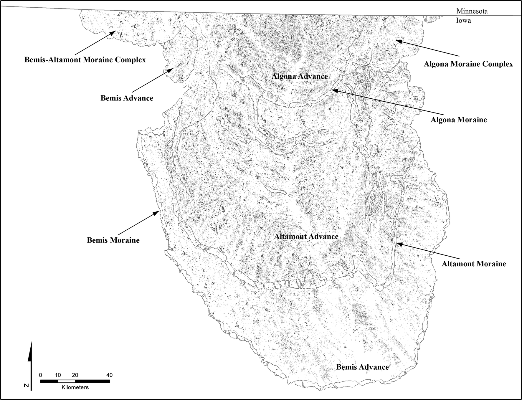 Morphology of Drained Upland Depressions on the Des Moines