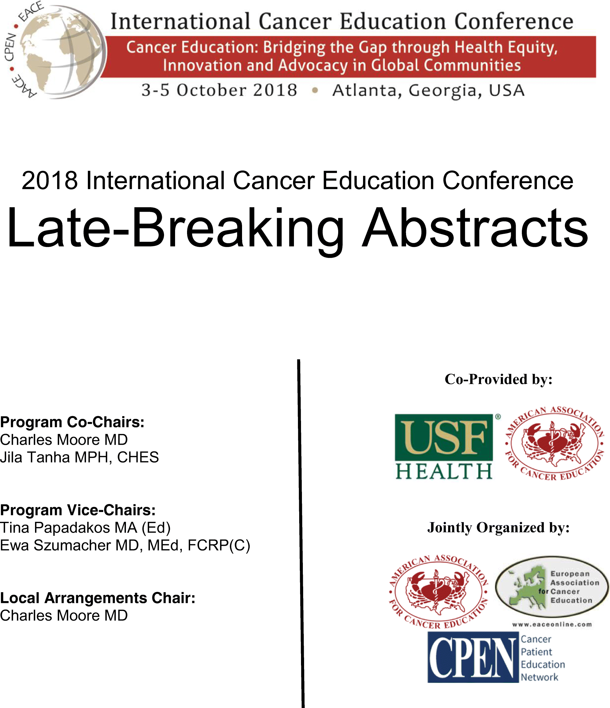 Late-Breaking Oral Abstracts | SpringerLink