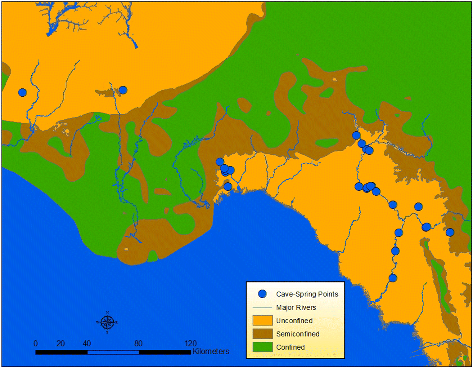 Land use changes and groundwater quality in Florida | SpringerLink