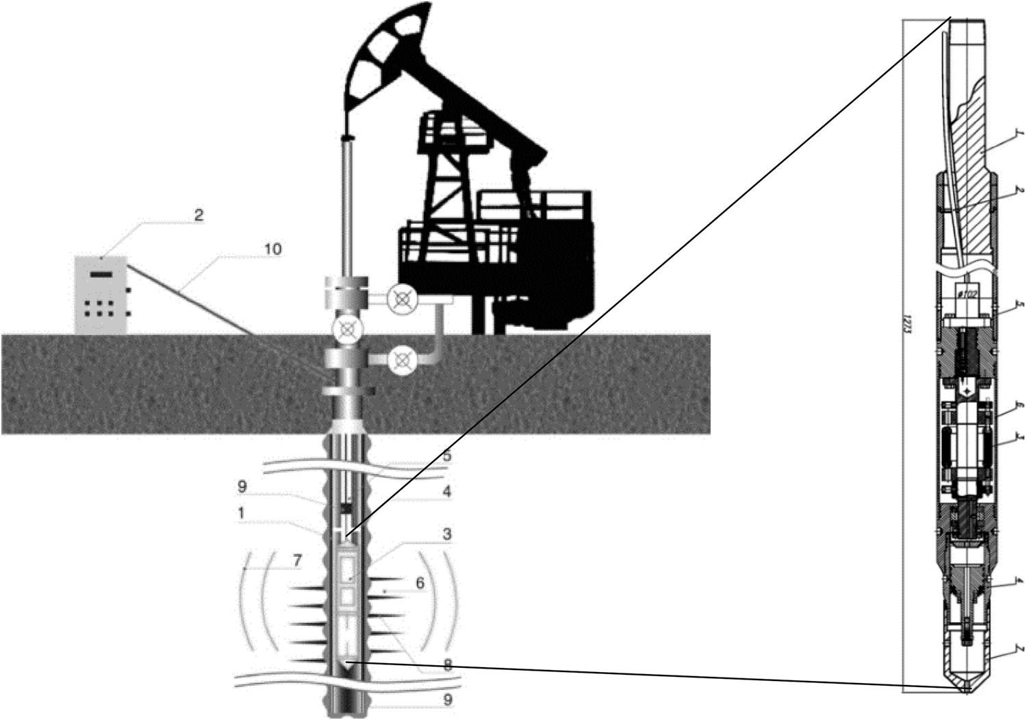 Preventing and removing wax deposition inside vertical wells