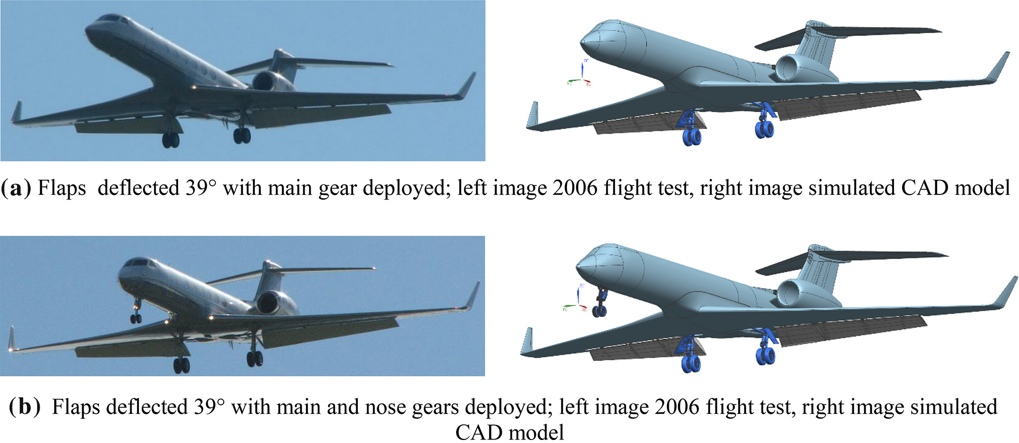 Toward noise certification during design: airframe noise simulations