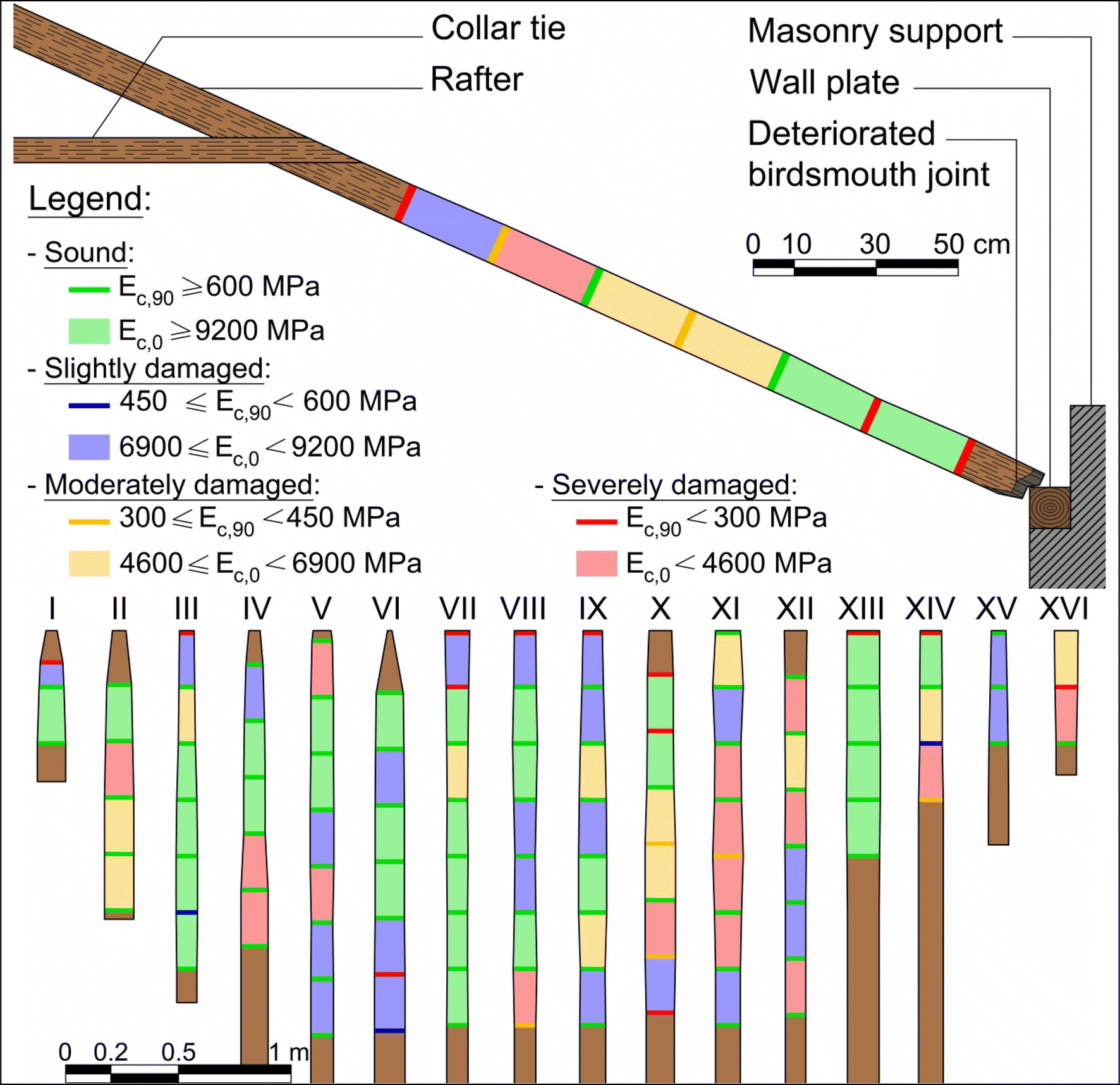 Structural and health assessment of historic timber roofs