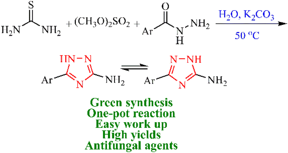 A green one-pot synthesis of 3(5)-substituted 1,2,4-triazol