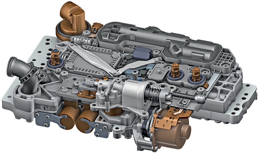 Nine-Speed Automatic Transmission 9G-Tronic by Mercedes-Benz