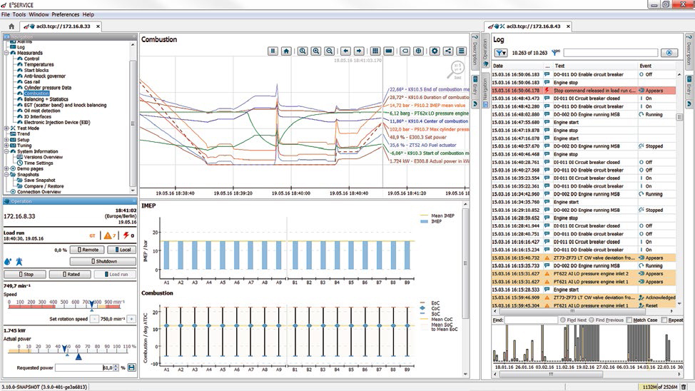 Engine Control with Open Software Based on an Industrial PLC