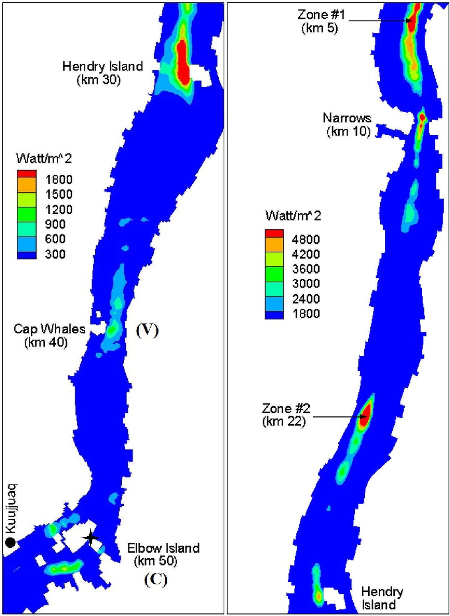 Assessment of tidal stream energy resources in a hypertidal estuary