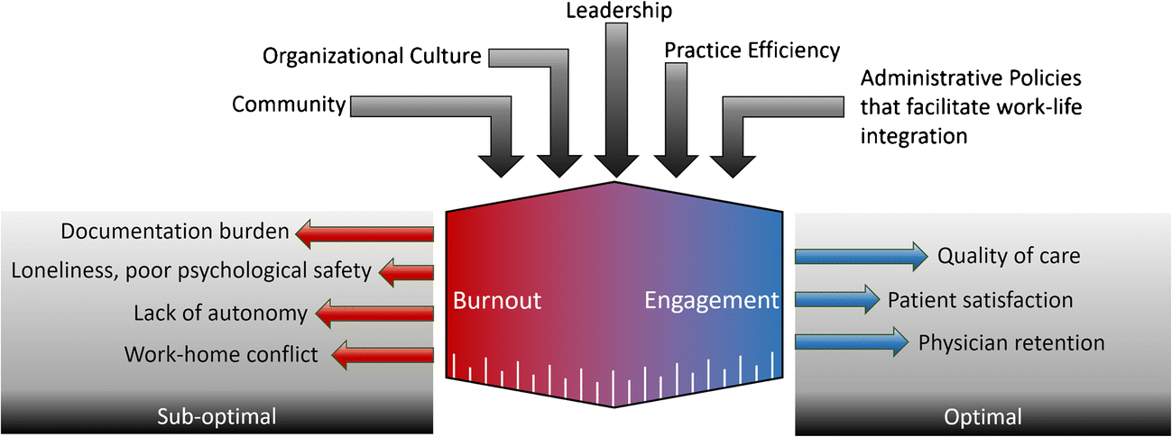 Organizational Factors Affecting Physician Well-Being