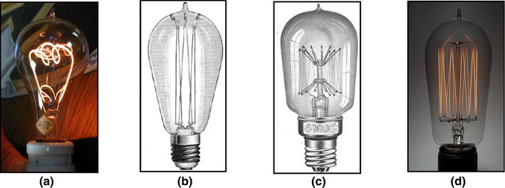 Incandescent Lighting And Powder Metallurgical Manufacturing Of