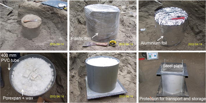 Getting high-quality samples in 'sensitive' soils for