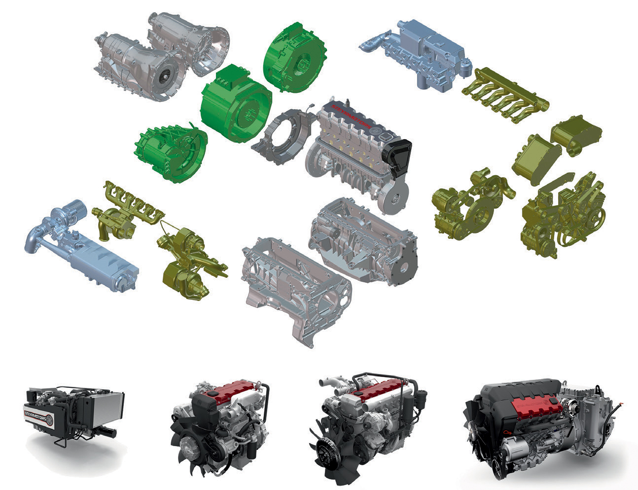 Diesel Power Module For Electrification Of Extra Mile Springerlink I Force V8 5 7 Litre Engine Diagram Open Image In New Window