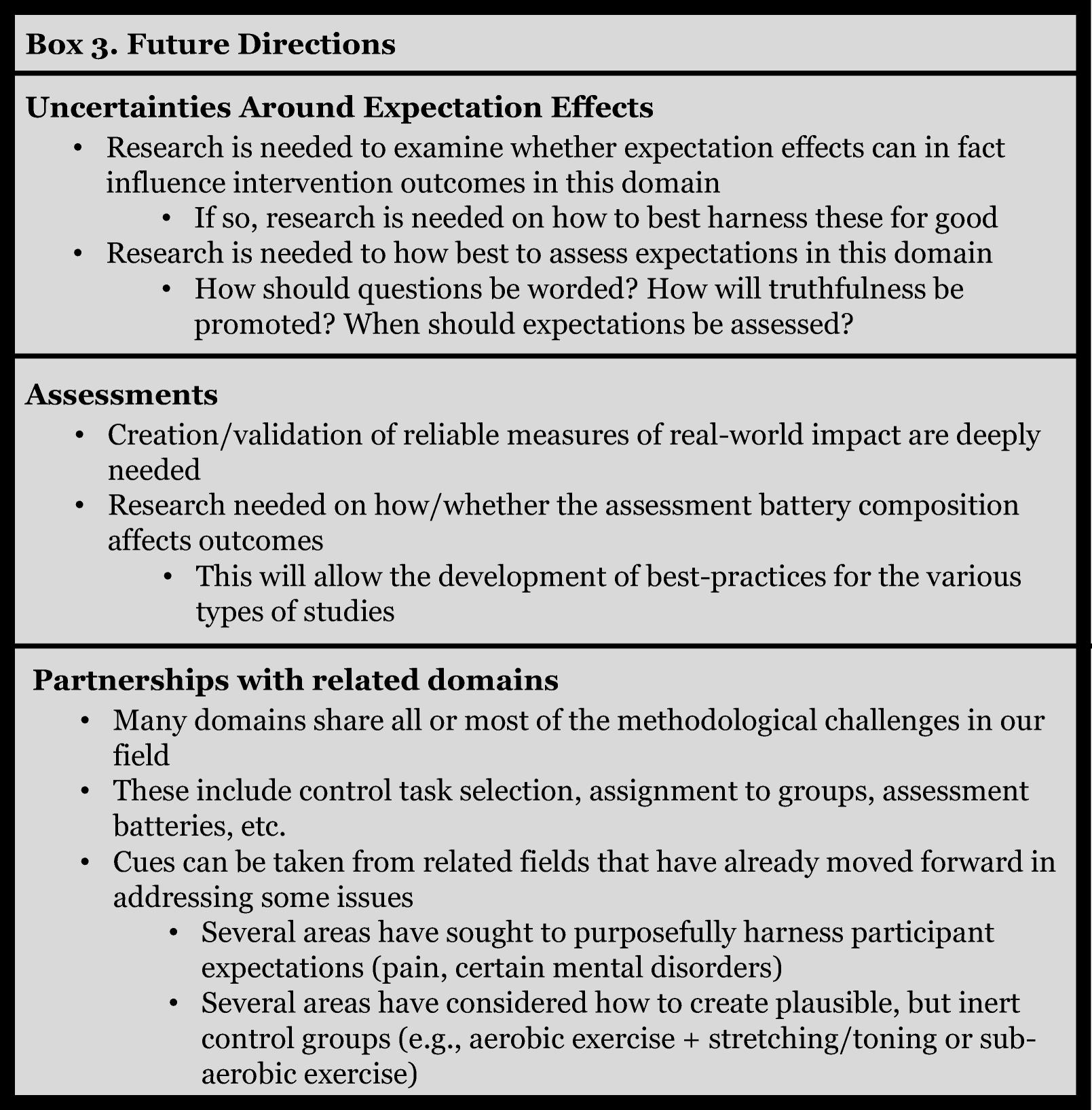 Improving Methodological Standards in Behavioral Interventions for