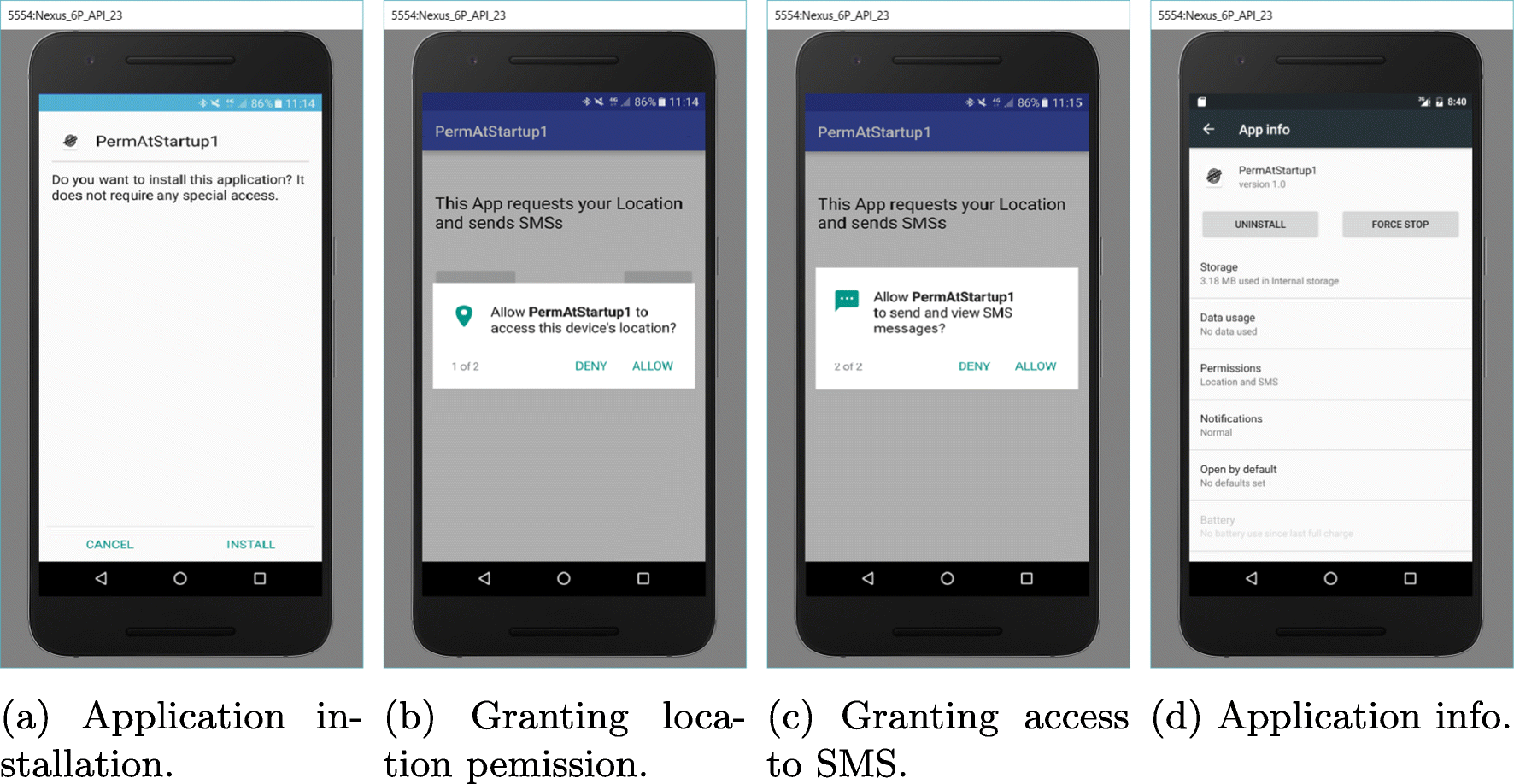 Unravelling Security Issues of Runtime Permissions in Android