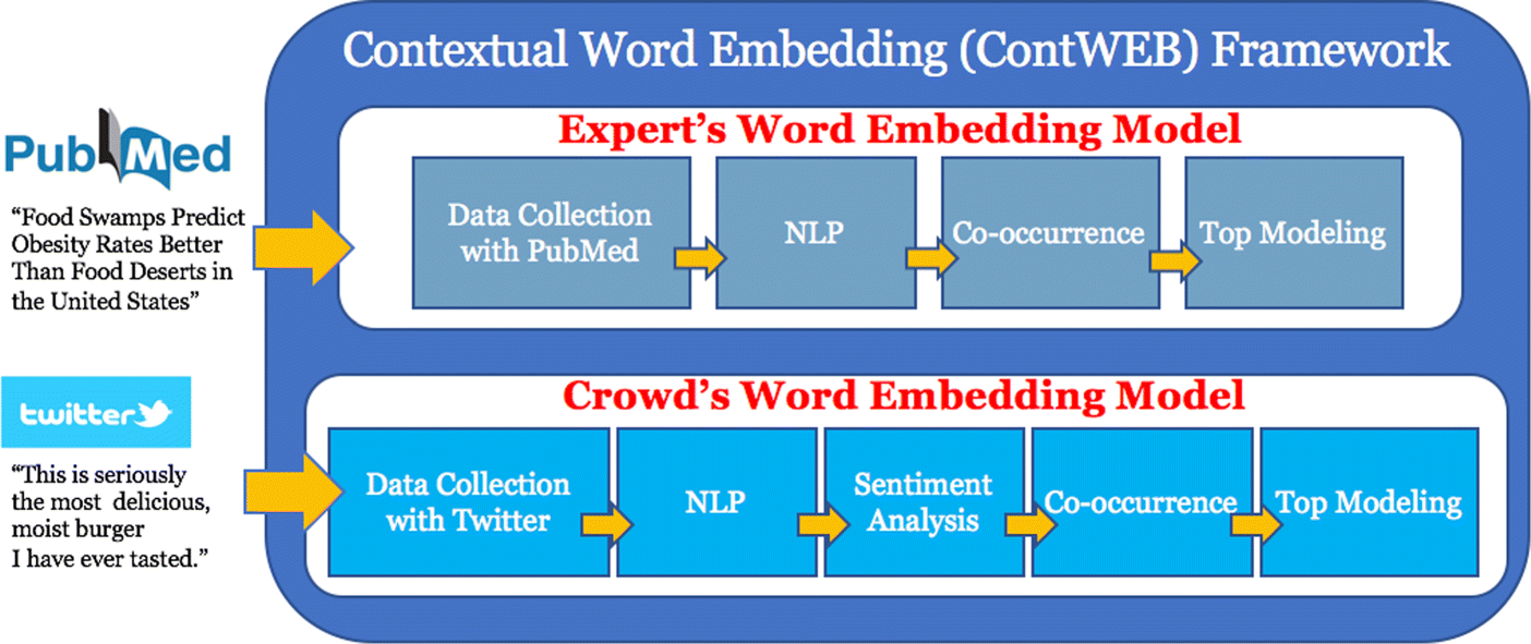 Contextual Word Embeddings and Topic Modeling in Healthy