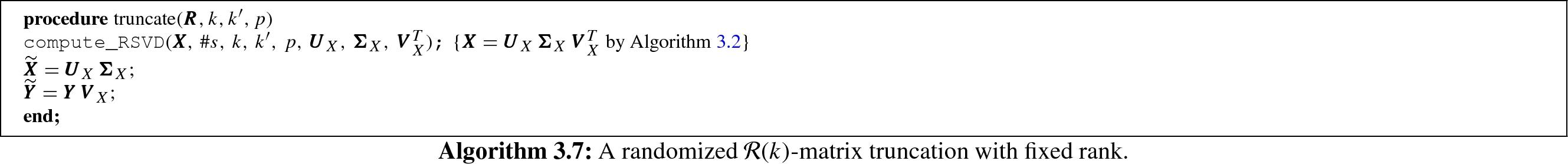 Randomized Recompression of [equation]-Matrices for BEM