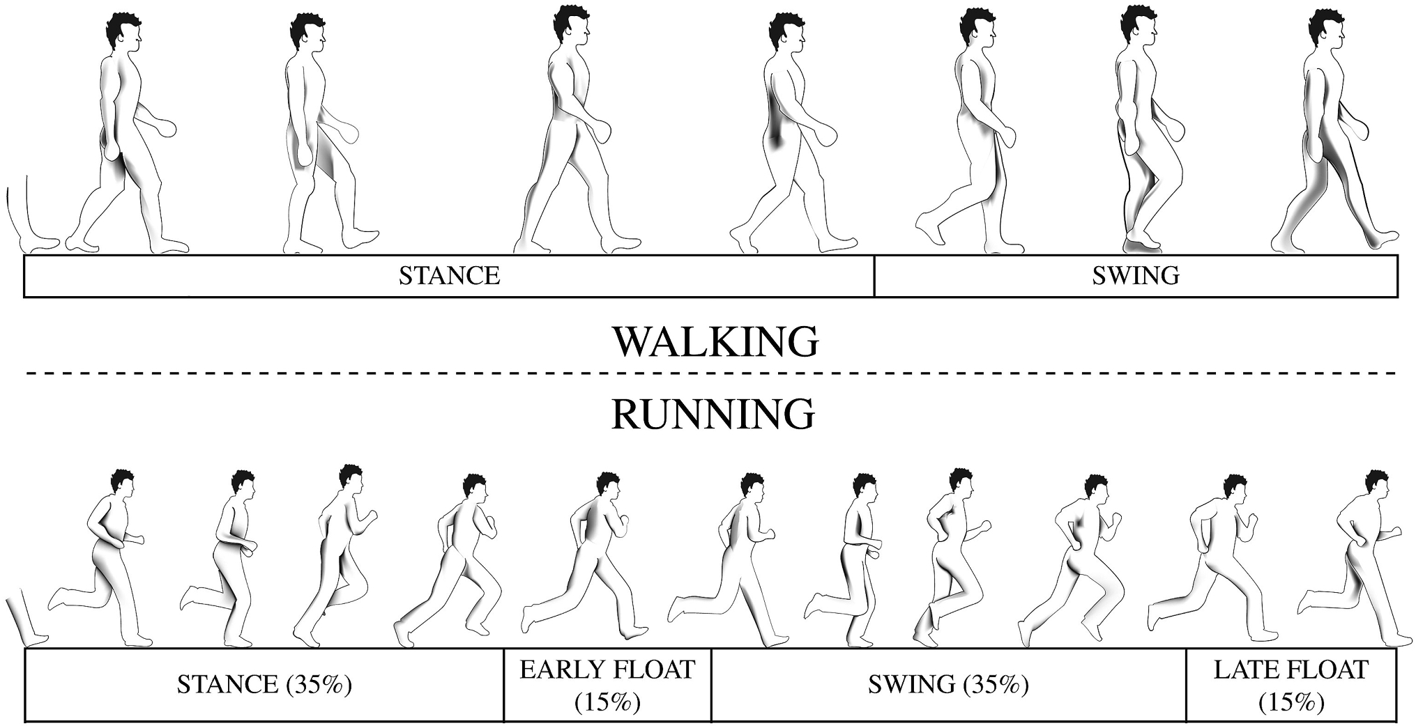 When joggers meet robots: the past, present, and future of