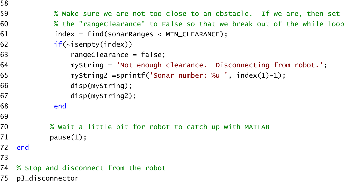 A simple and highly portable MATLAB interface for learning robotics