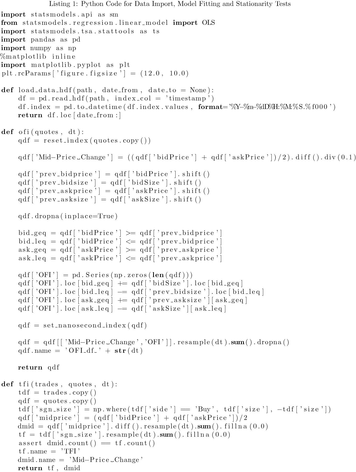 Order flow analysis of cryptocurrency markets | SpringerLink