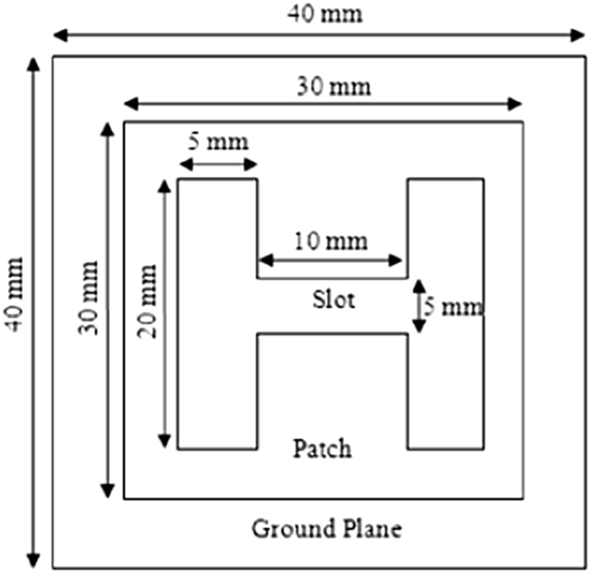 Analysis and Design of Microstrip Patch Antenna for Radar