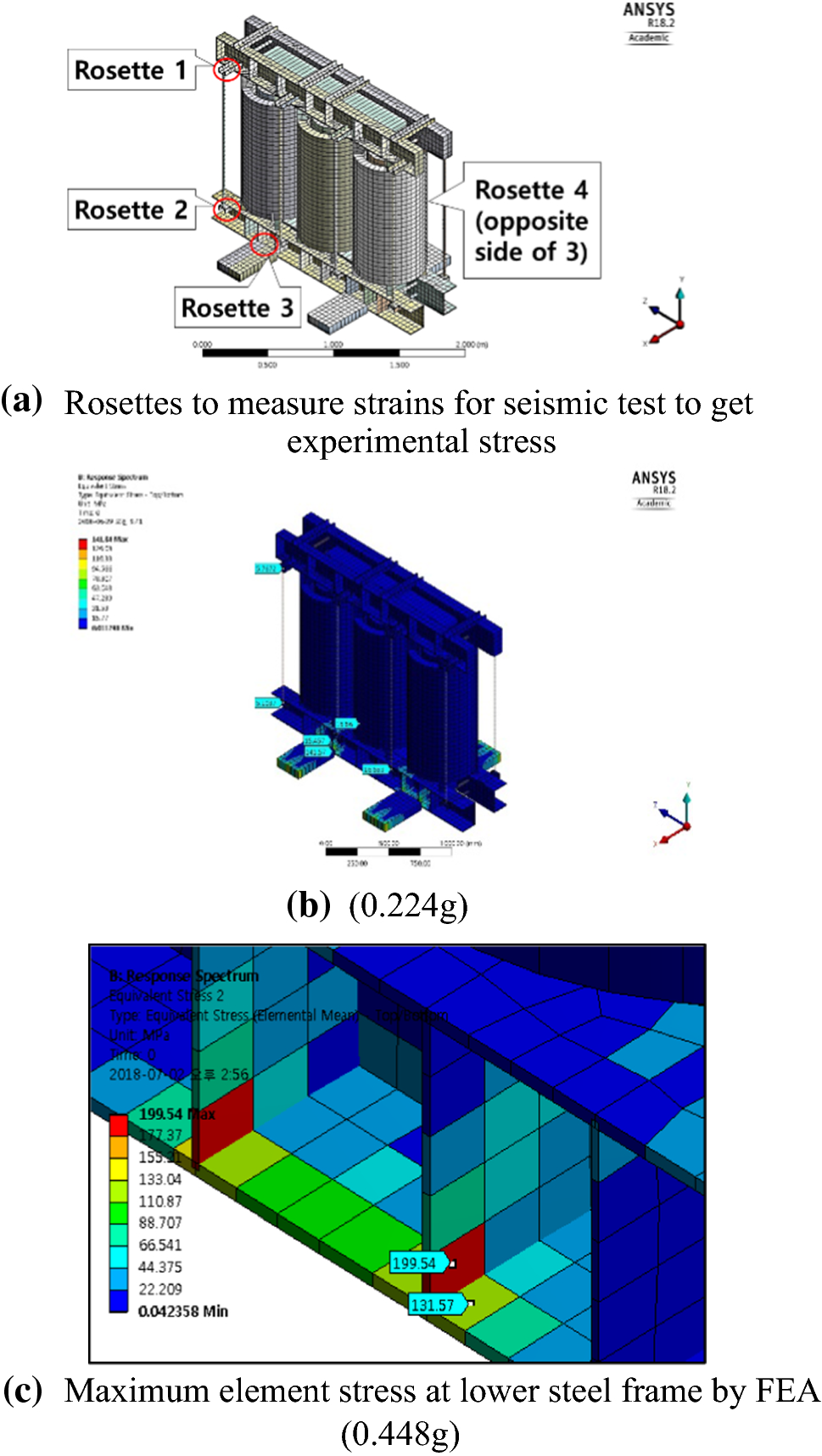 The Earthquake Safety Assessment of 1000 kVA Cast Resin