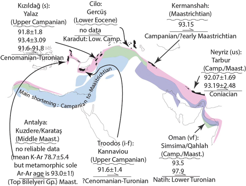 The phanerozoic palaeotectonics of Turkey  Part I: an