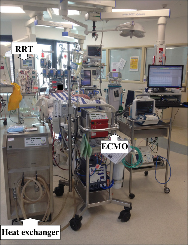 ecmo therapy in hantavirus induced severe cardiopulmonary • in patients with severe acute resp or cardiac  indications for ecmo • facilitate cardiac surgery  weaning / endpoint therapy.
