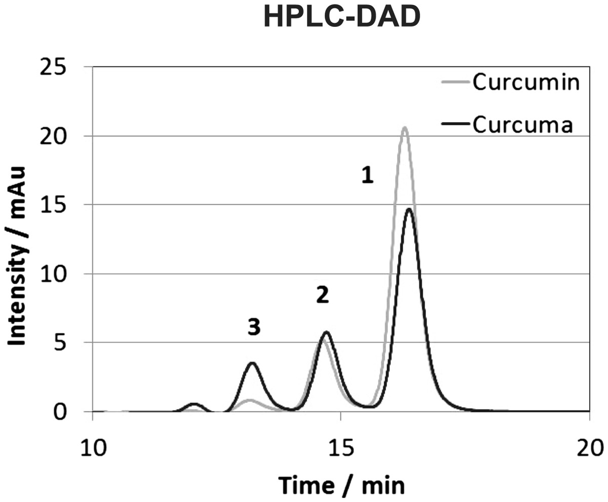 Curcuma DMSO extracts and curcumin exhibit an anti