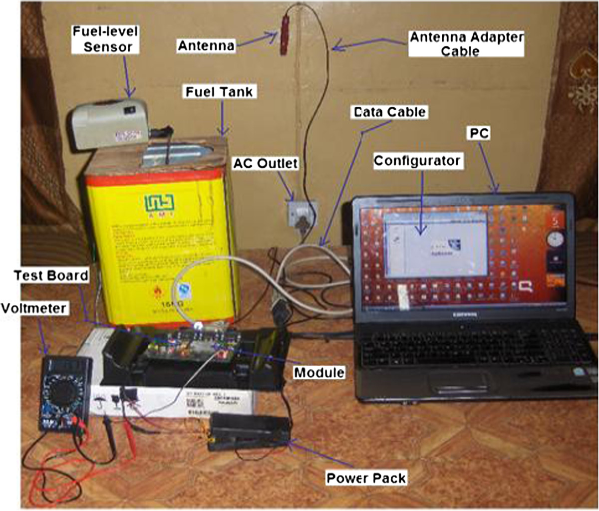 Design Construction And Implementation Of A Remote Fuel Level Water Alarm Sensor Module Liquid Circuit Board Open Image In New Window