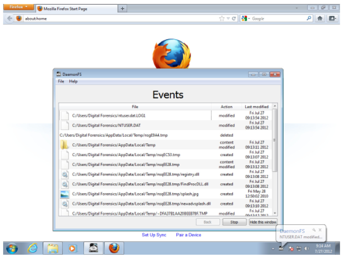 Do private and portable web browsers leave incriminating evidence