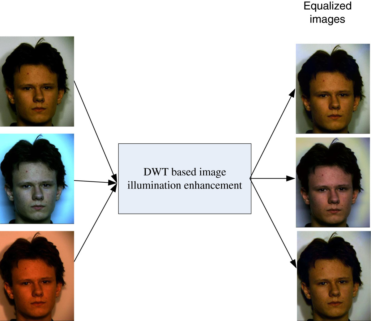 Face recognition using color local binary pattern from