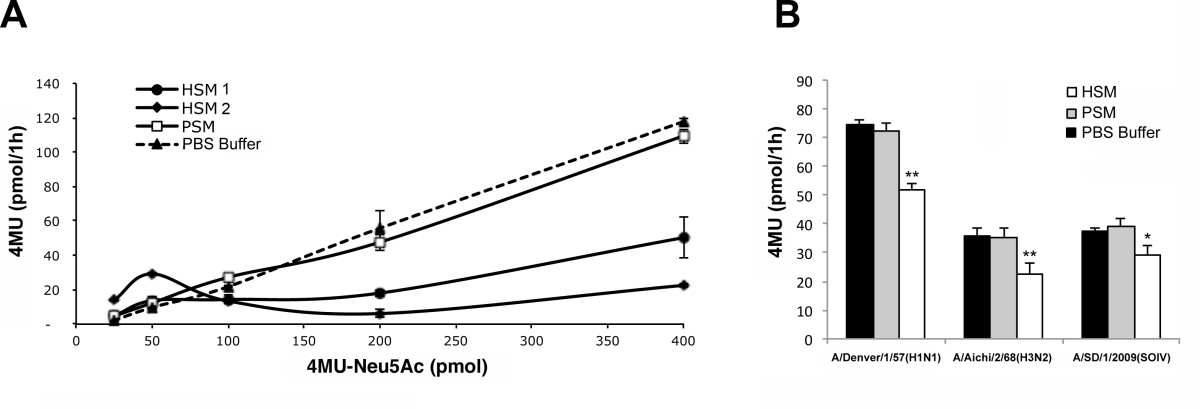 Influenza A penetrates host mucus by cleaving sialic acids
