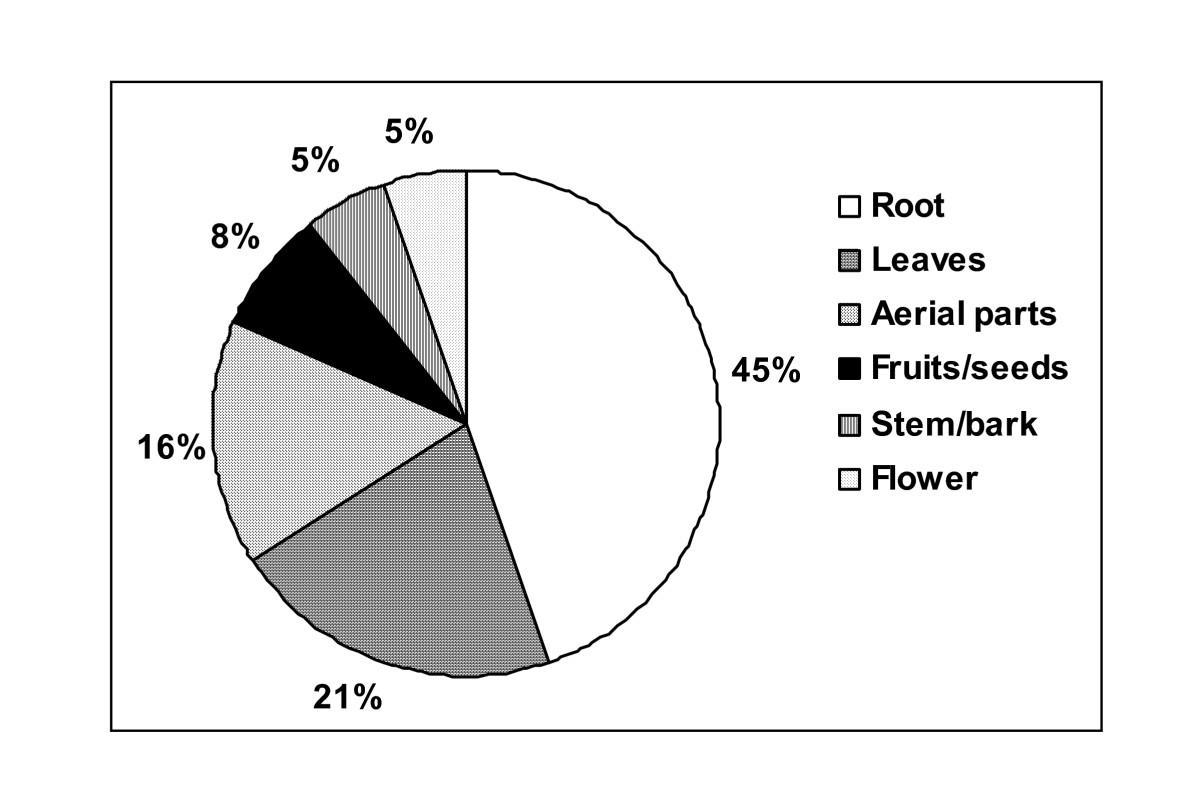 Traditional use of medicinal plants among the tribal