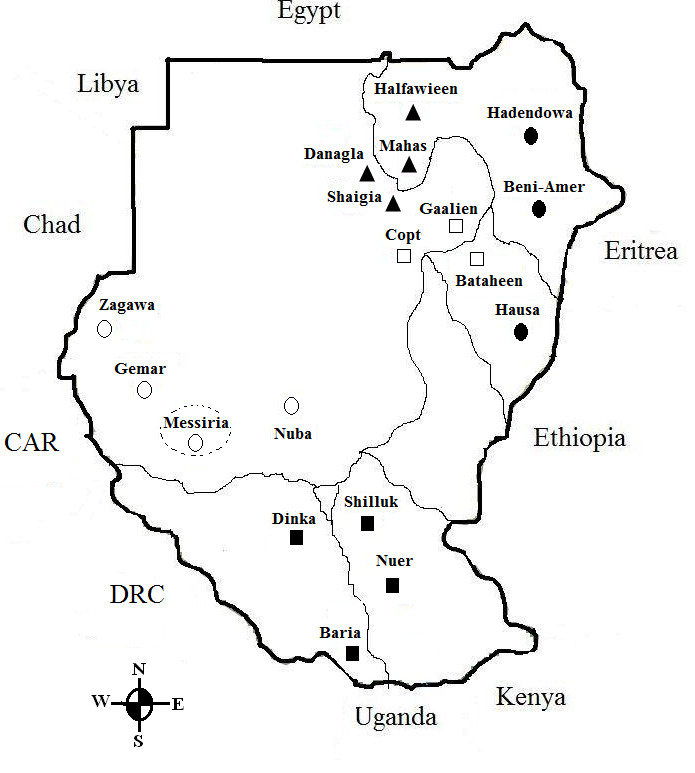 an analysis of kinship in sudan in northeast africa Changing identifications and alliances in north-east and national identity in north-east africa case studies from sudan politics of kinship and marriage.